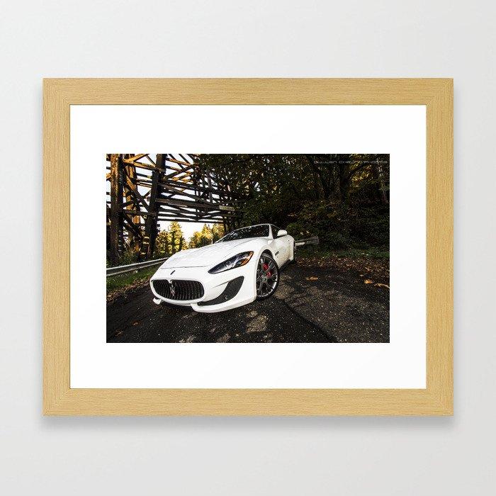 Maserati Gran Turismo Framed Art Print