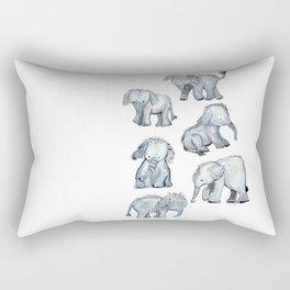 Little Elephants Rectangular Pillow