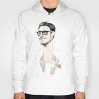 chad wys Hoodies featuring I´m hipster  by Cecilia Sánchez