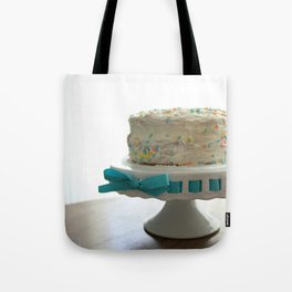 Birthday Cake Tote Bag