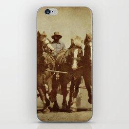 Team Of Horses iPhone Skin