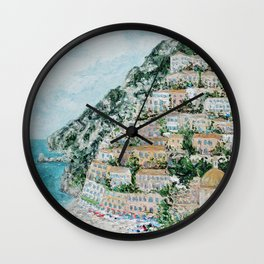 Positano Wall Clock