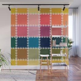 summer , patchwork Wall Mural