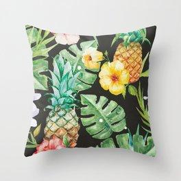 In summer Throw Pillow