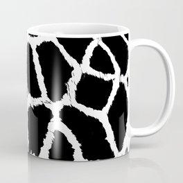 Black and white giraffe pattern Coffee Mug