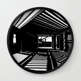 Shadows and Light Wall Clock