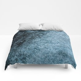 Blue Fade (Color) Comforters