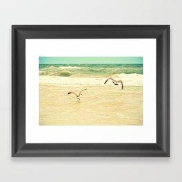 Karate Kid Pose Framed Art Print