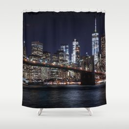 The Lights of New York City Shower Curtain