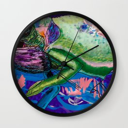 Chamaeleonidae Wall Clock