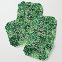 Floral Abstract 23 Coaster