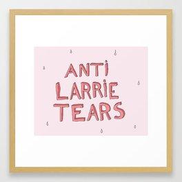 anti larrie tears3 Framed Art Print
