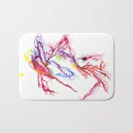 Galactic Blush Bath Mat