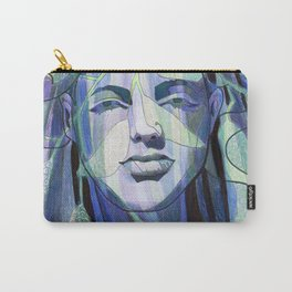 Veiled Lady Carry-All Pouch
