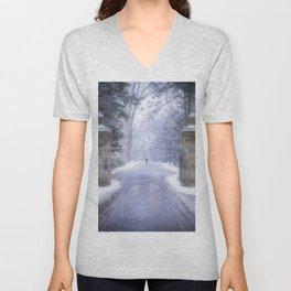Winter Wonderland Unisex V-Neck