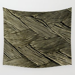 Steel Braided Strap 2 Wall Tapestry