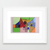 wild things Framed Art Prints featuring Wild things by tmens