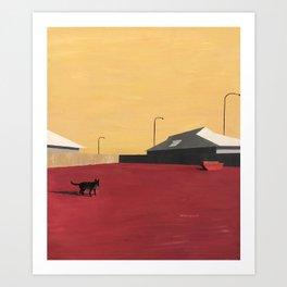 Broome North III, or Jonathan Goldstein Art Print