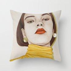 Close Up 16 Throw Pillow