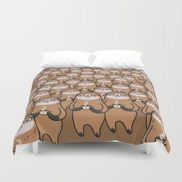 sloth-tastic! Duvet Cover