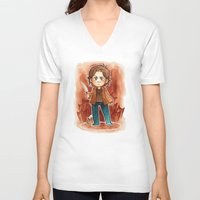 sam smith V-neck T-shirts featuring sam by cynamon
