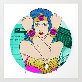 Occupy Wall Street POP ART Art Print