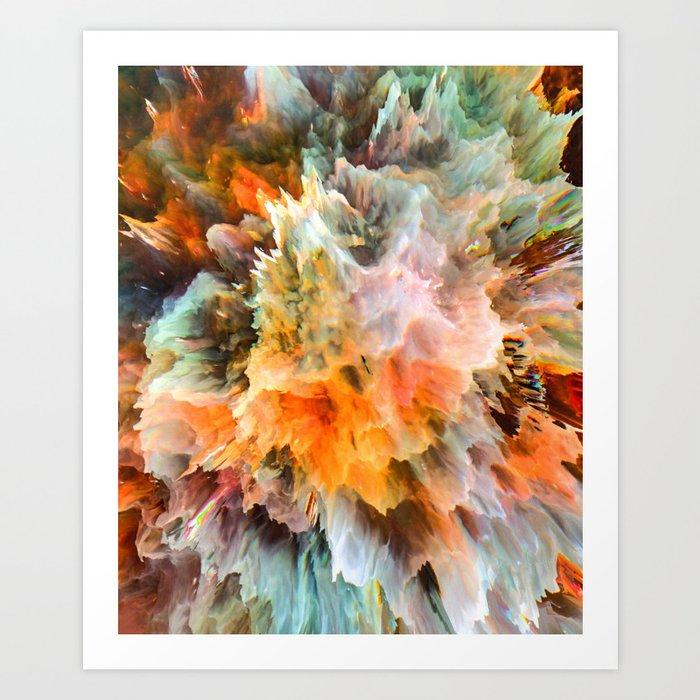 Fampen Art Print