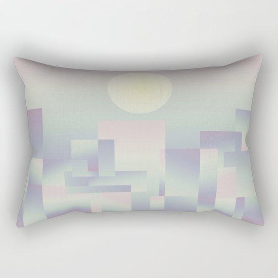 Opalescent dawning Rectangular Pillow