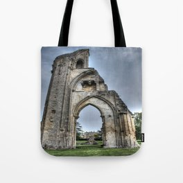 The Past Remains HDR Tote Bag