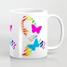 You can't have a Rainbow without the Rain - Awareness Ribbon - Commissioned Work Mug