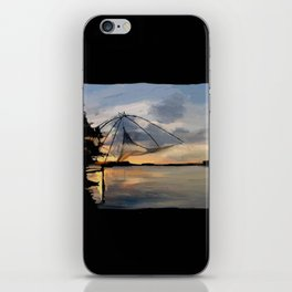 80 - Chinese fishing net, Cochin iPhone Skin