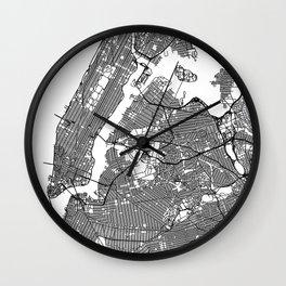 Minimal New York Wall Clock
