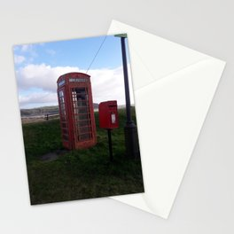 Antique Phone Box - Carmarthenshire, Wales Stationery Cards