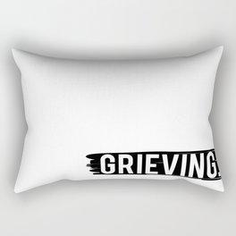Grieving Rectangular Pillow