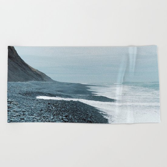 division of responsibility Beach Towel