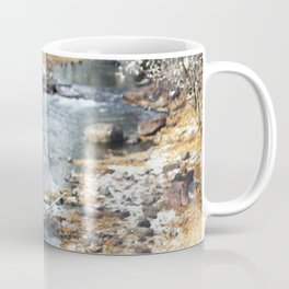 A Creek on a Snowy Day in Boulder, Colorado II Coffee Mug