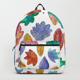 Watercolor Leafs Backpack