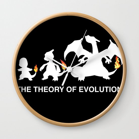 The Theory of Evolution  Wall Clock