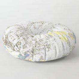 Nothing,my dear, endures Floor Pillow