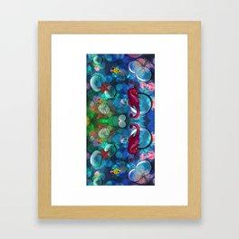 Sea World Framed Art Print