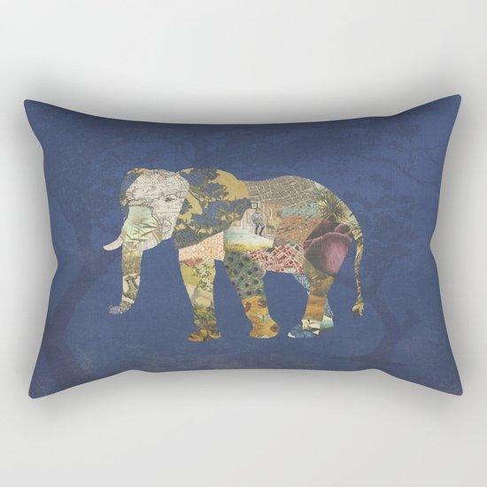 Elephant - The Memories of an Elephant Rectangular Pillow