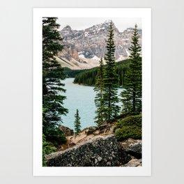 Lake Daze Art Print