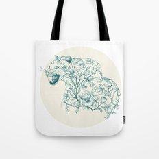 Floral Leopard  Tote Bag
