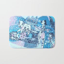 Journey to the Three Sisters Bath Mat