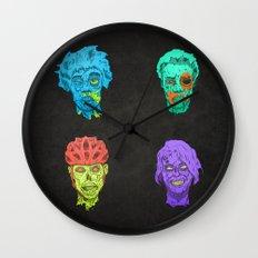 Zombie Quartet Wall Clock