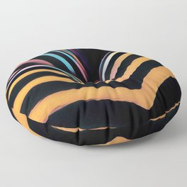 2026s-AK Striped Body Curves by Chris Maher Floor Pillow