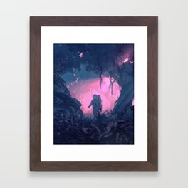 WRONG PLANET (everyday 08.30.18) Framed Art Print