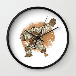 Dabbing Scary Dabber Halloween Spooky Corpse Egyptian Gift Mummy Dab Wall Clock