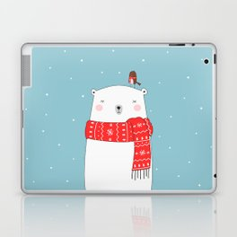 POLAR BEAR&LITTLE BIRD CHRISTMAS Laptop & iPad Skin