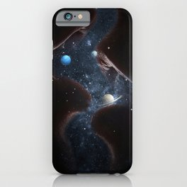 Starry kisses. iPhone Case
